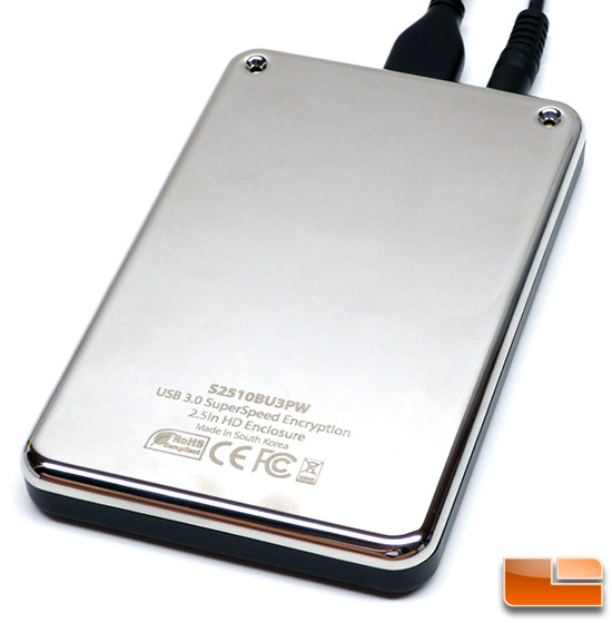 StarTech Encrypted USB 3.0 Portable Hard Drive Housing