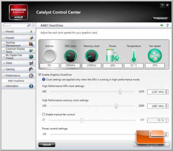 AMD CCC Overclocked