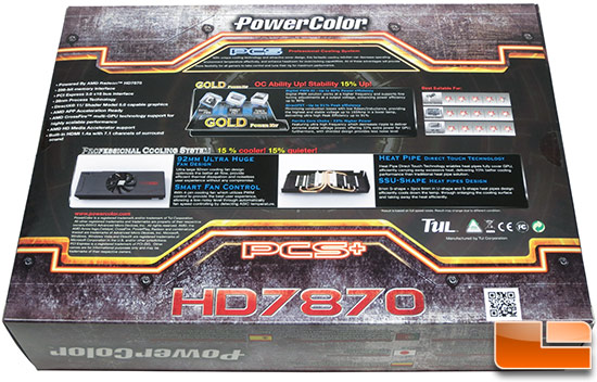 PowerColor 7870 Myst Retail Box Back