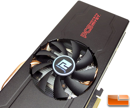 PowerColor Radeon HD 7870 Myst Video Card Fan