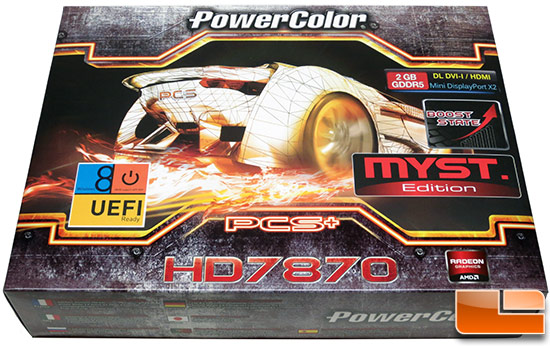 PowerColor 7870 Myst Retail Box