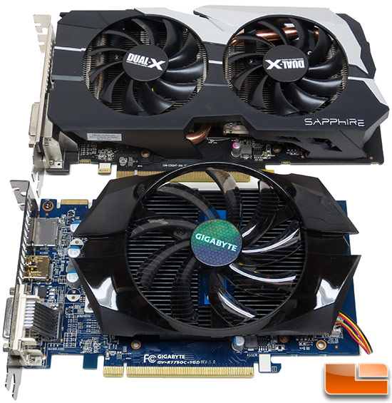 Sapphire and Gigabyte Radeon HD 7790 Video Cards