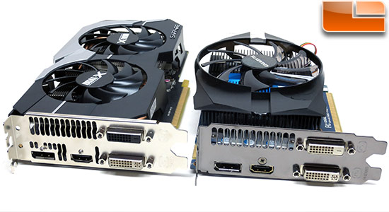 Sapphire and Gigabyte Radeon HD 7790 Video Outputs