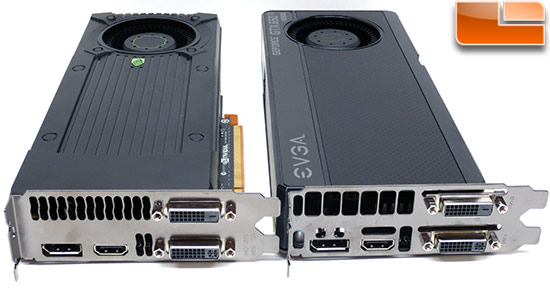 NVIDIA and EVGA GeForce GTX 650 Boost Video Outputs