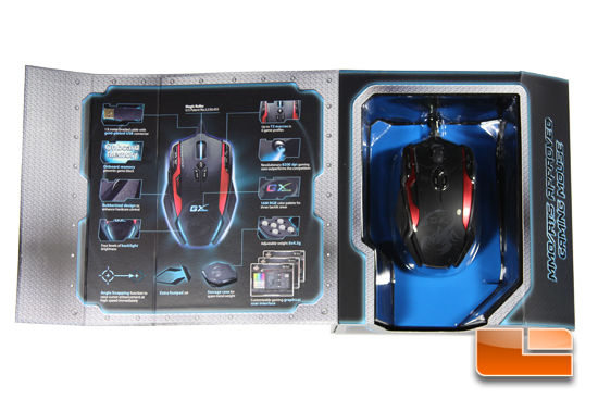 Genius Gila Gaming Mouse Packaging