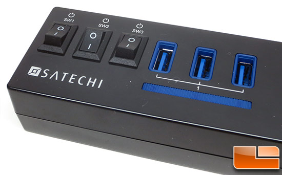 Satechi 10-Port USB 3.0 Hub Switches