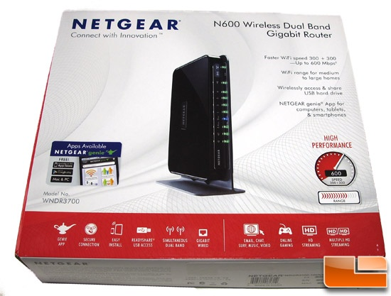 Netgear WNDR3700v4 Box