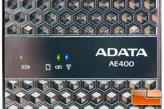 ADATA AE400 LEDs