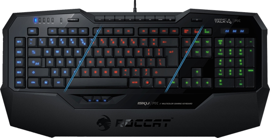 ROCCAT Isku FX Multicolor Gaming Keyboard Review