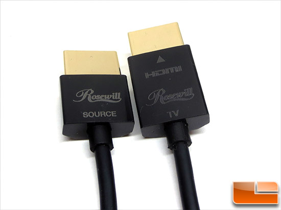 Rosewill RedMere HDMI Cable Labeling