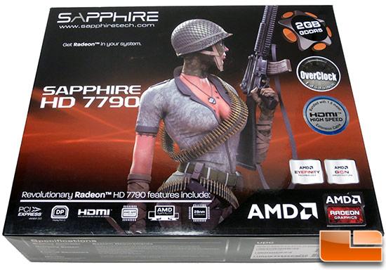 Sapphire Radeon HD 7790 2GB OC Box
