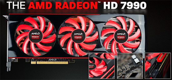 AMD Radeon HD 7990 6GB Malta Video Card Review
