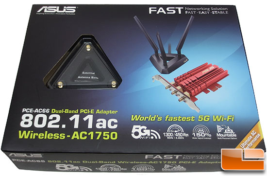 ASUS PCE-AC66 Dual-Band 802.11 AC PCIe Wireless Card Review