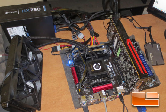 MSI Z77A-GD65 Gaming Test System