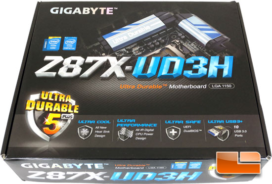 GIGABYTE Z87X-UD3H Intel Z87 Motherboard Retail Packaging and Bundle