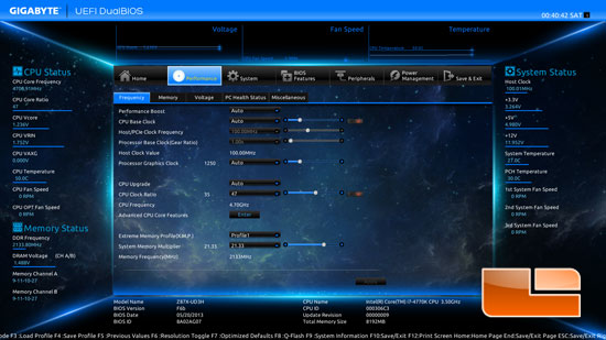 GIGABYTE Z87X-UD3H UEFI DualBIOS