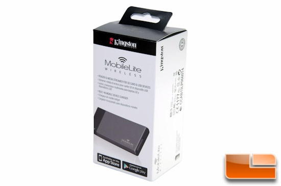Kingston MobileLite Wireless Packaging Front