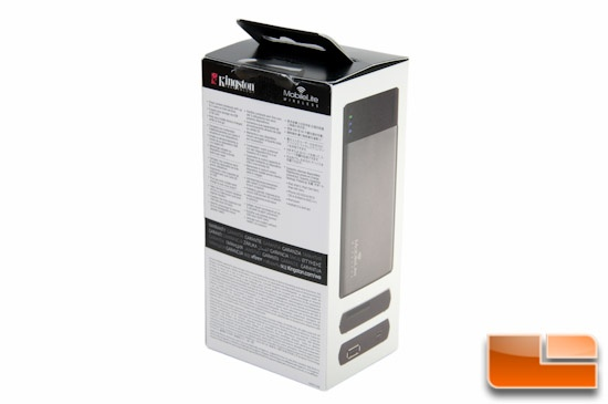 Kingston MobileLite Wireless Packaging Rear