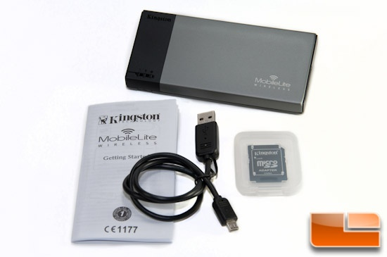 Kingston MobileLite Wireless Contents