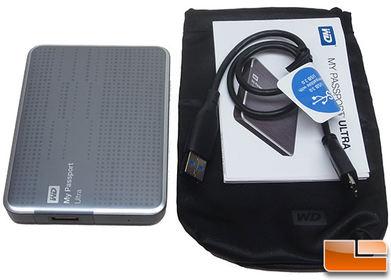 WD My Passport Ultra 1TB Bundle
