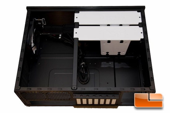 Fractal Design Node 605 Cover Off