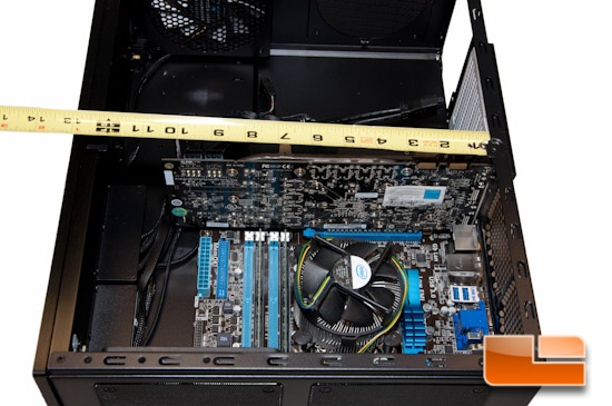 Fractal Design Node 605 Video Card Area