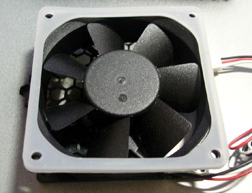 dustproof fan with gasket