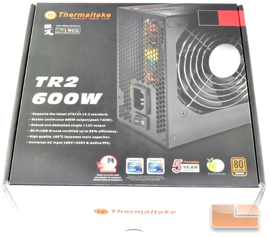 Thermaltake TR2 600W box