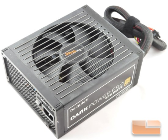 Dark Power Pro 10 550W top view