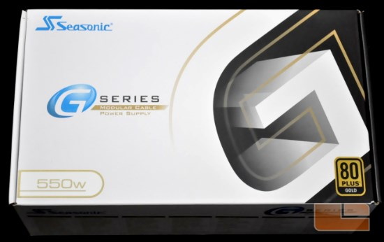 Seasonic G-Series 550W box