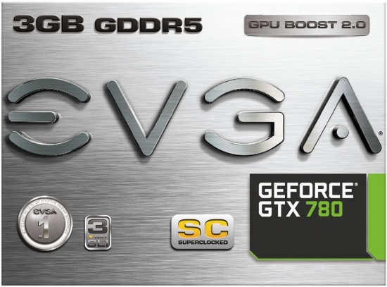 EVGA GeForce GTX 780 Superclocked ACX Box