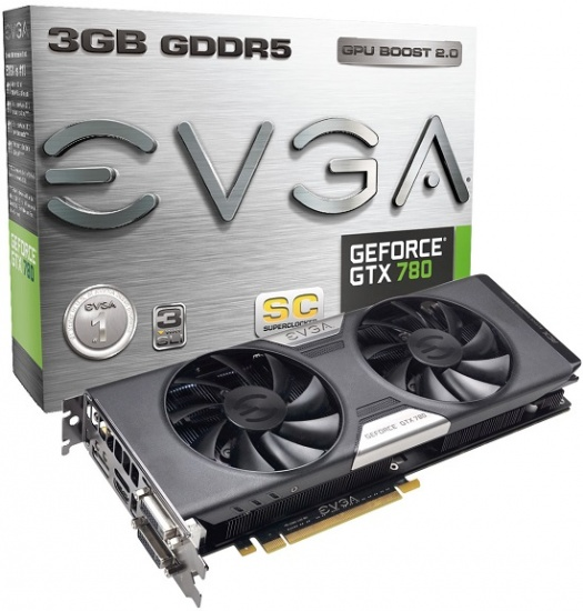EVGA GeForce GTX 780 Superclocked ACX