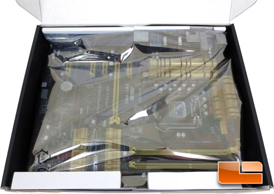 ASUS Z87-Pro Intel Z87 Motherboard Retail Packaging