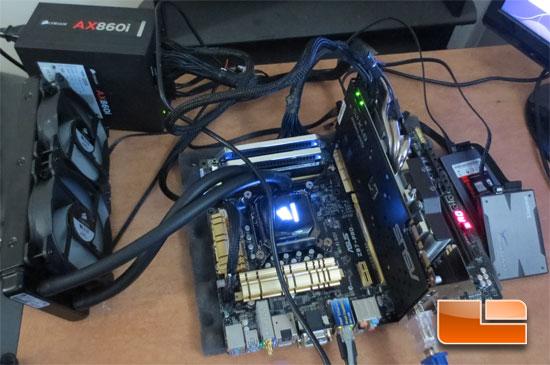GIGABYTE Z87X-UD3H Test System