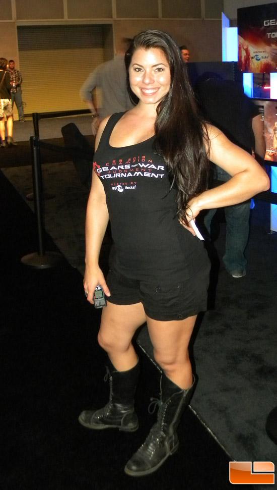 E3 Booth Babe