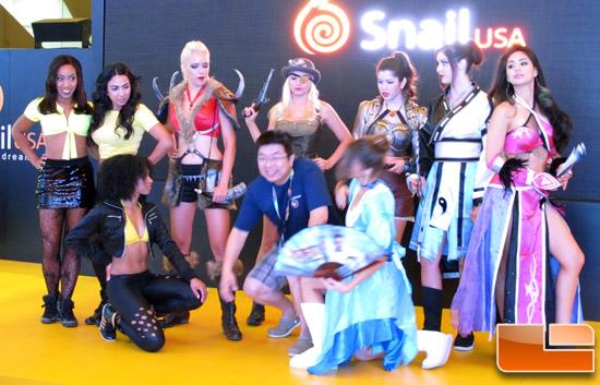 E3 2013 Booth Babes