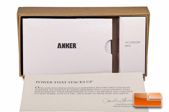 Anker Astro Slim2 Inside Packaging