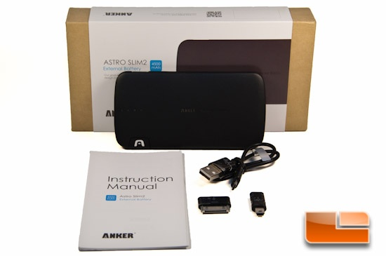 Anker Astro Slim2 Box Contents