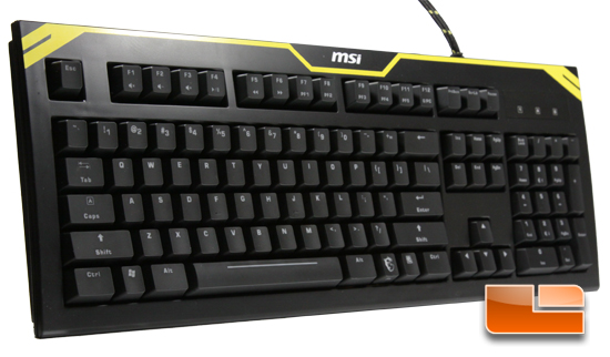 MSI GK-601 Backlit Mechanical Gaming Keyboard Review