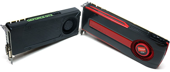 NVIDIA GeForce GTX 760 2GB and AMD Radeon HD 7950 3GB