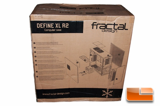 Fractal Design Define XL R2 Box Features List