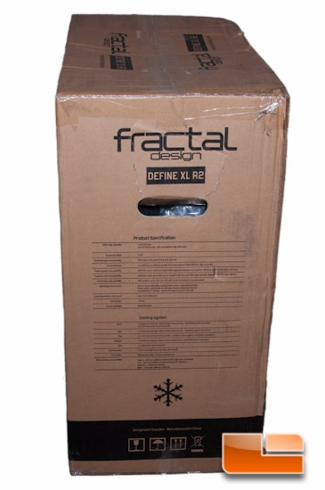 Fractal Design Define XL R2 Box Cooling Specifications
