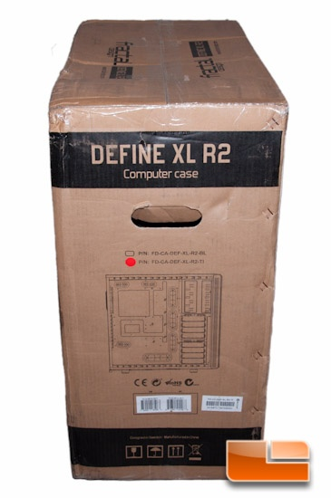 Fractal Design Define XL R2 Box Interior Details