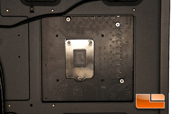 Fractal Design Define XL R2 CPU Socket Cutout