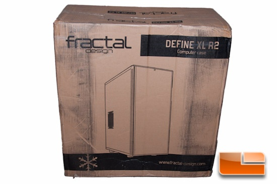 Fractal Design Define XL R2 Box Drawing