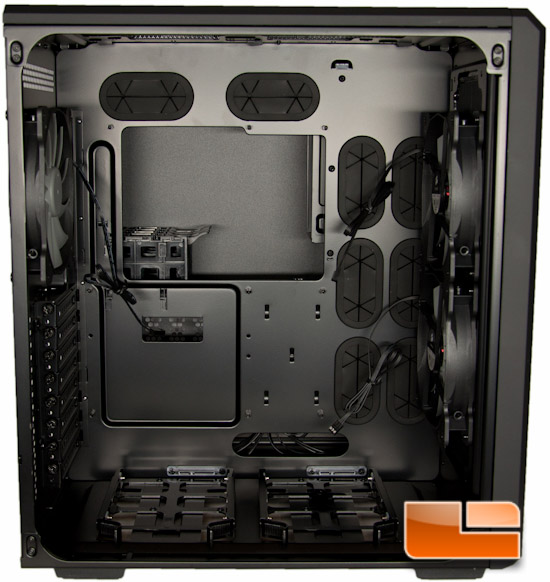 Corsair Carbide Air 540 Left Chamber Interior