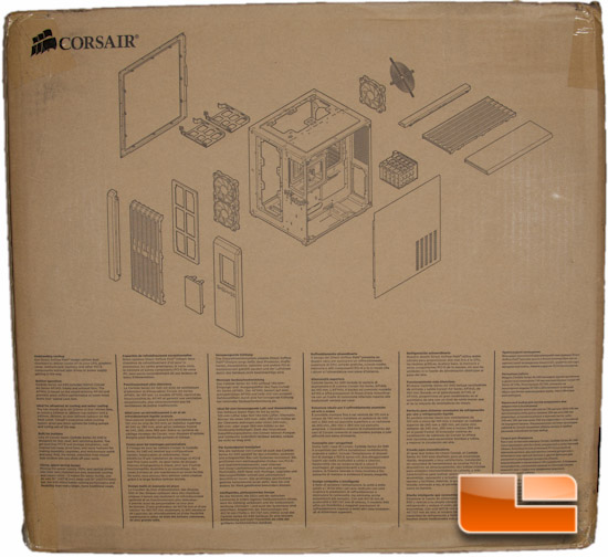 Corsair Carbide Air 540 Box Rear