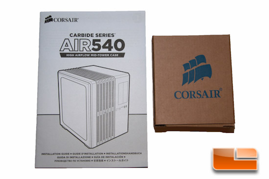 Corsair Carbide Air 540 Included Items