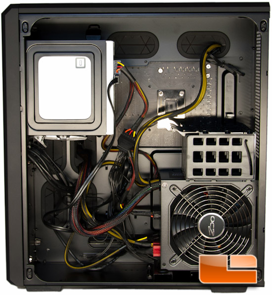 Corsair Carbide Air 540 PSU Installed