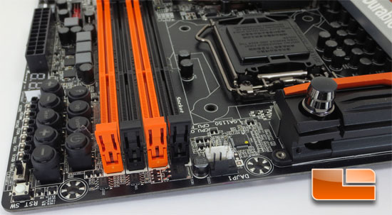 GIGABYTE Z87X-OC Force Intel Z87 Motherboard Layout